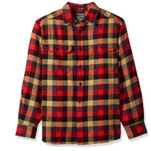 Woolrich Oxbow Bend Red Flannel Shirt